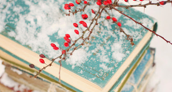 Vintage-Winter-Books