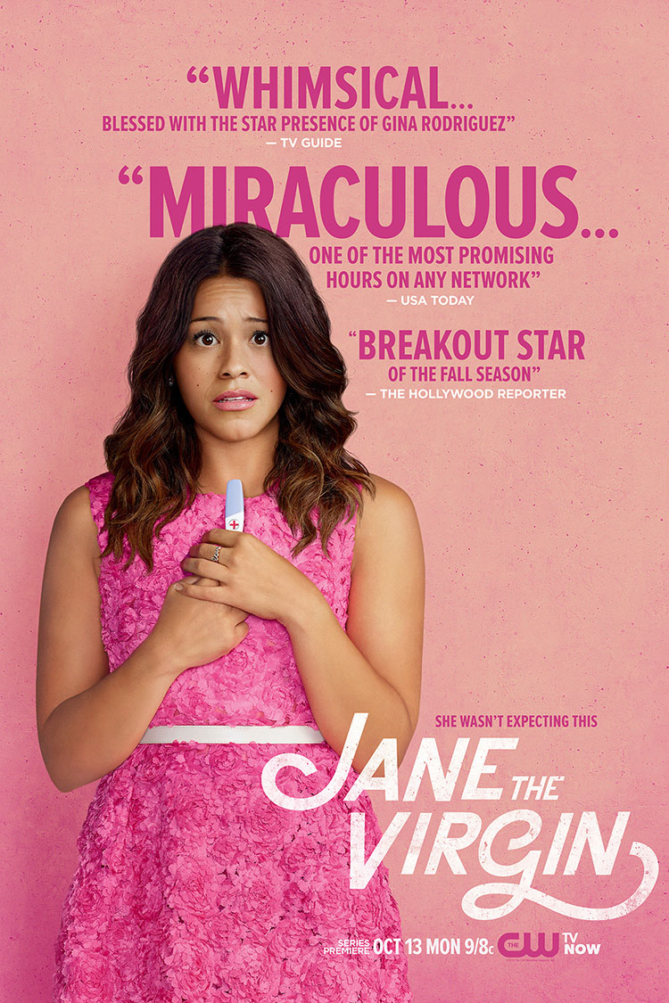 Jane The Virgin -- Key Art -- Credit: © 2014 The CW Network, LLC. All rights reserved