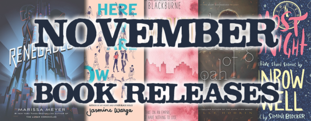 November Book Releases