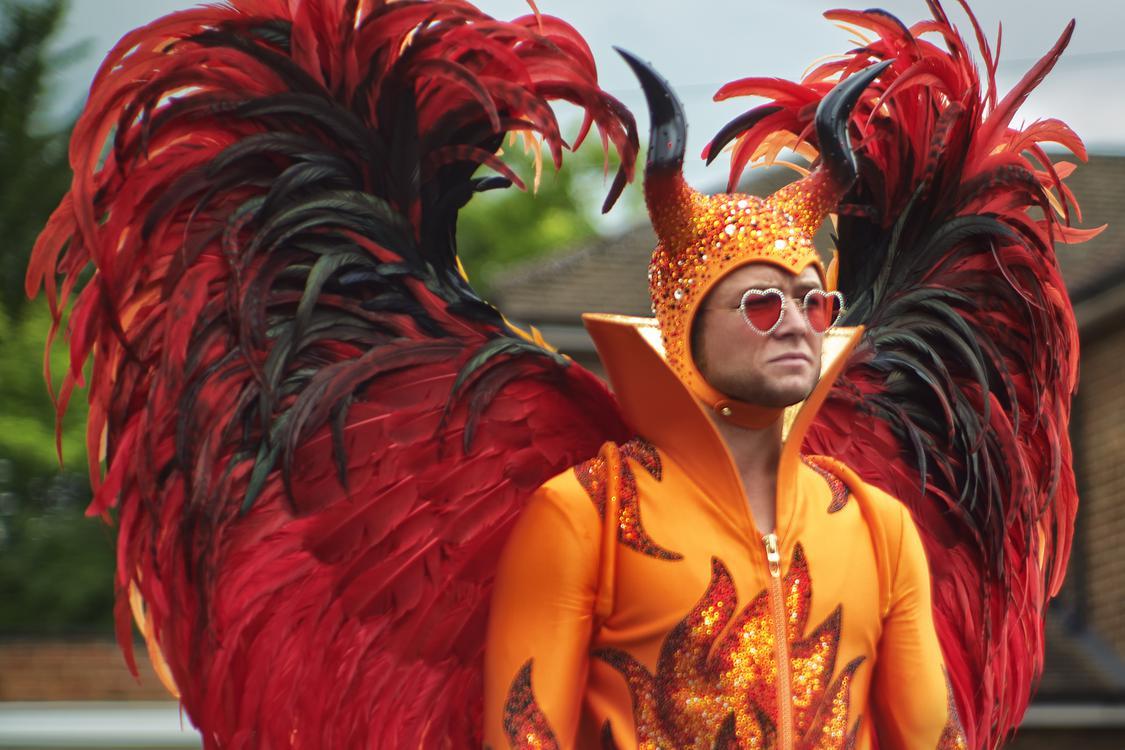 Taron Egerton as Elton John in Rocketman from Paramount Pictures. ©2019 Paramount Pictures