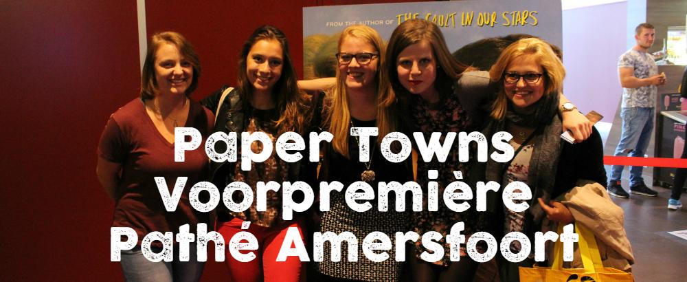 paper towns voorpremiere