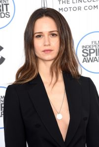 SANTA MONICA, CA - FEBRUARY 21: Actress Katherine Waterston attends the 2015 Film Independent Spirit Awards at Santa Monica Beach on February 21, 2015 in Santa Monica, California. (Photo by Jason Merritt/Getty Images)
