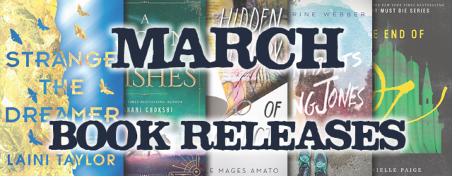 March Book Releases