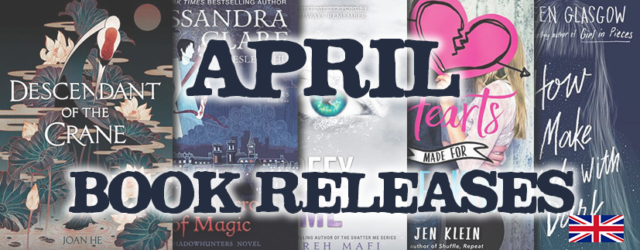 April Book Releases 2019