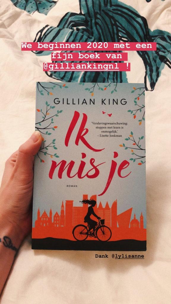 Me reading Ik mis je.