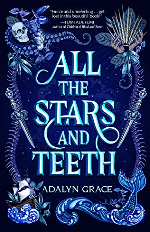 Book cover of All the Stars and Teeth