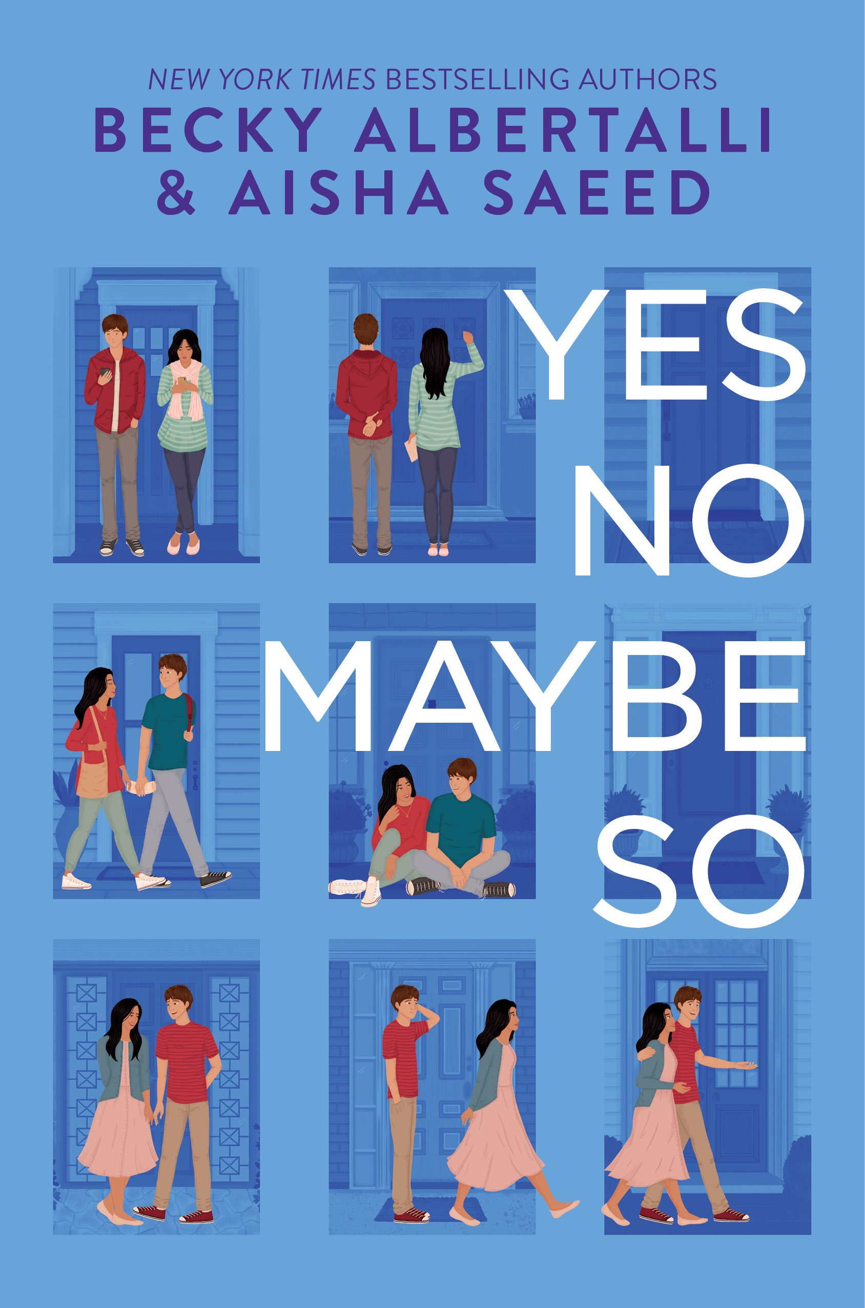 Book cover of Yes No Maybe So