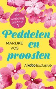 Omslag van het boek Peddelen en proosten van De weddingplanner.