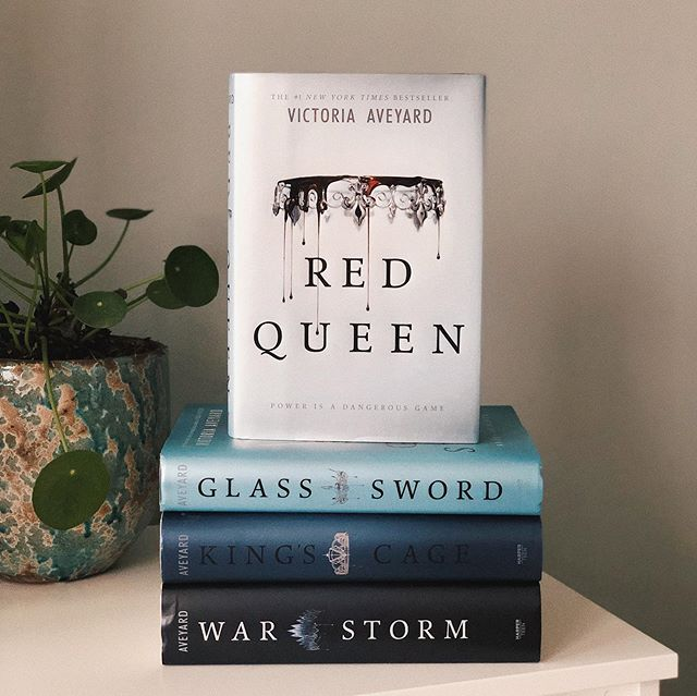 The beautiful series of Red Queen from my March 2020 Book wrap up.