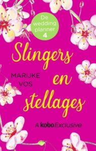 Omslag van het boek Slingers en stellages van De weddingplanner.