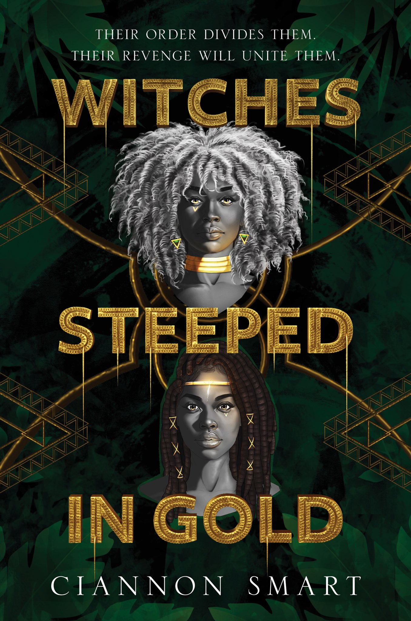 Cover of Witches Steeped in Gold